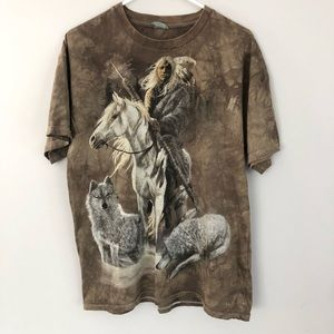 The Mountain Native American graphic tee